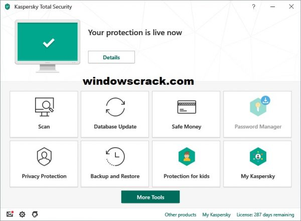 Kaspersky Total Security 2021 License Key