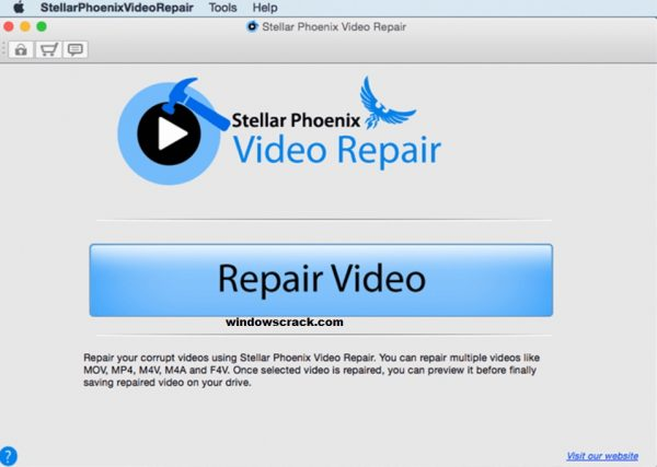 Stellar Phoenix Video Repair 5.0.0.2 Activation Key