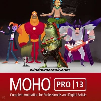 Smith Micro Moho Pro 13.0.2.610 Crack + Keygen (Latest)
