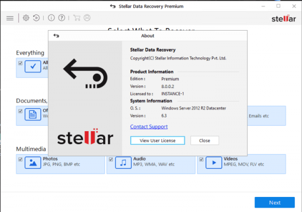 Stellar Data Recovery Professional Activation Key [2020]